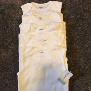Other - Five short sleeve onesies